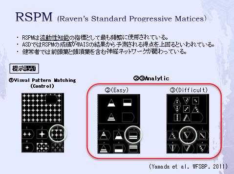 fMRIによるRSPMに関する研究(1)